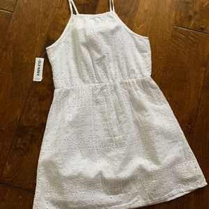 White Eyelet Summer Dress